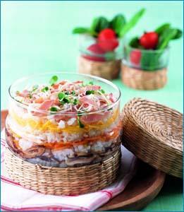 알록달록 오색 케이크 초밥