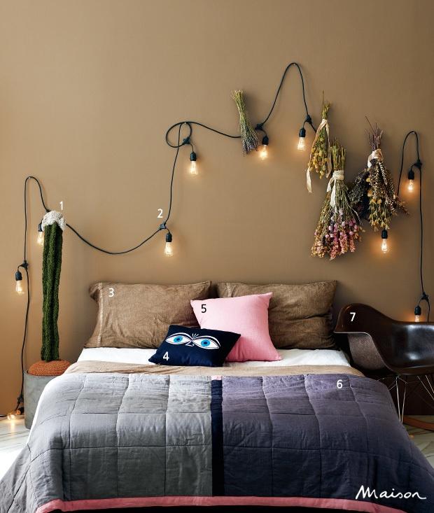 가을 냄새 가득한 침실 꾸미기